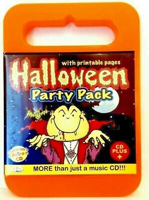 Halloween Masks Printables (HALLOWEEN PARTY PACK  CARRY CASE CHILDRENS AUDIO CD+, PRINTABLE MASKS, GAMES,)