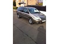 Chrysler Grand Voyager Diesel 7 Seater Stow and Go - Top of the Range Model - Low Mileage