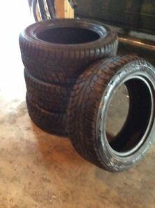 4 Hankook studded IPike RW11 snow tires