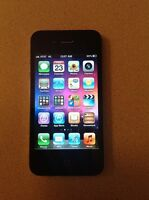 iPhone 4S with Black Otterbox Case (Bell Network)