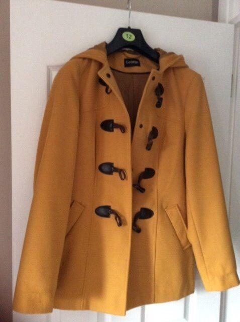 Bargain Nearly New George Ladies Duffle Coat | in Nuneaton ...
