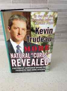 "KEVIN TRUDEAU ~NATURAL ""CURES"" REVEALED HARD COVER BOOK"