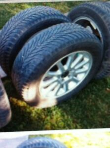 Good Year Snow Tires with Alloy Mag Rims