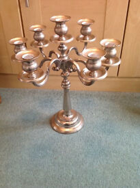 For Sale - Silver Plate Candelabra