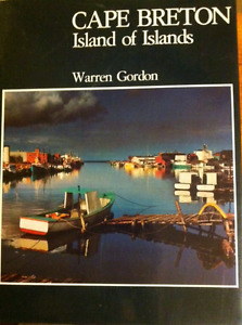 Cape Breton - Island of Islands- hard cover book with dustjacket