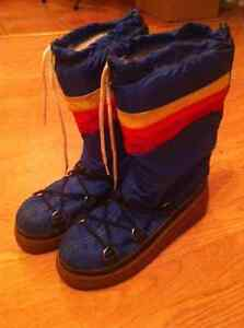 Vintage 1970's Snowmaster Rainbow Winter boots Cornwall Ontario image 2