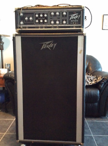 Peavey Bass Amp Cabinet and Head - MAKE ME AN OFFER!!!
