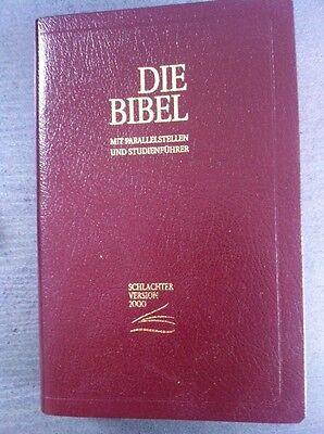 Schlachter Bibel 2000 Fibroleder Weinrot- Flexibel Aktion für kurze Zeit!!!