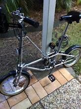 Dahon Stainless Steel Collapsable Bike Wooloowin Brisbane North East Preview
