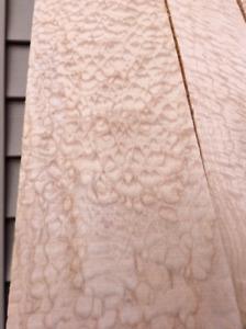 Instrument Wood TEARDROP Maple Kiln Dried Planed