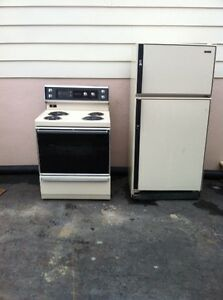 Full Size Fridge & Stove
