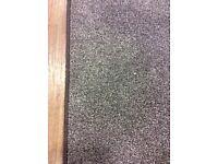 Brown saxony rug £20