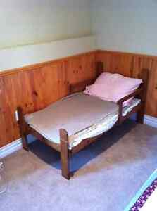 Toddler Bed (Real Wood)