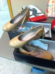 Tap Shoes- Capezia Lilina Sz 3 and 5 with taps Half Price $110