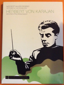 MUSSORGSKY. PICTURES AT AN EXHIBITION. KARAJAN, BERLIN. DVD PAL