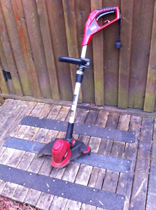 Toro electric grass trimmer