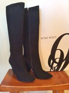 Tall Black Fashion Boot 8