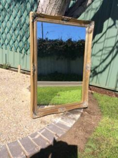 Old Gilt Framed Mirror
