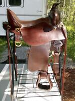 REAL COMFIRTABLE GEN 11 TUCKER  WESTERN SADDLE(new)