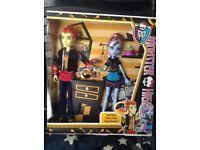 Monster High Doll - Heath Burns / Thomas Crame and Abbey Bominable - BNIB - £10