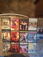 LOT OF15 DVDS $30