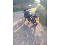 KRS MOTO WORX 125 MOTORCYCLE