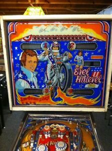 Evel Kneivel pinball game for sale or trade