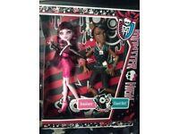 Monster High Doll - Draculaura and Clawd Wolf - BNIB - £10