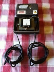 TRANSFORMER 24V, 80VA INCLUDING METAL BOX - £ 18 ovno