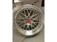 "19"" Bbs lm alloy wheels brand new 5x120"