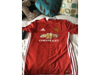 Brand New Youth`s Manchester United Football Shirt