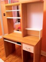 IKEA - Desk & Hutch Unit . Good condition. Must sell