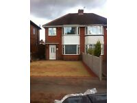 *B.C.H* 3 Bed Semi-Detached Home- Booth Farm Road- GREAT BARR