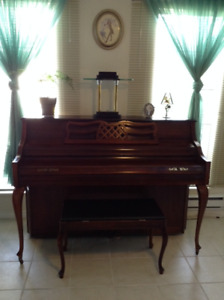 Upright apartment size  Piano for sale $600.00
