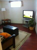 Short-term Furnished 2 bedrm b. suite in Mill Creek area & UofA