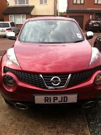 Nissan Juke 1.6 petrol auto, 38,000miles, one owner, 4 years old, excellent condition