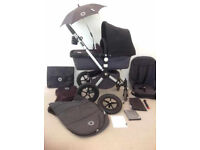 Bugaboo Cameleon Pram and Pushchair with lots of extras Baby Child Buggy Cot