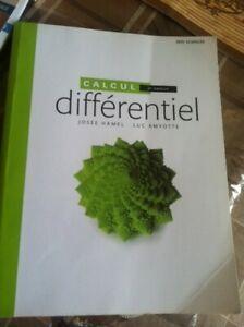 calcul différentiel 2è édition  CEGEP