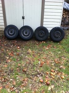"14 "" Tires & Rims- 2 Winter Tires & 2 All Season"