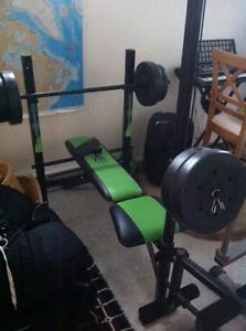banc de musculation/weight bench