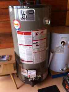 Propane Hot Water Tank - REDUCED!!!- SOLD PPU