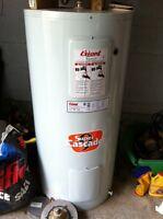 Réservoir eau chaude électrique 40 Gal. Super Cascade