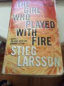 THE GIRL WHO PLAYED WITH FIRE -By Stieg Larson