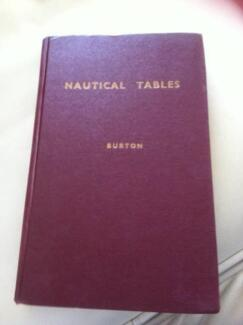 NAUTICAL TABLES for General Navigational Purposes BURTON 3ed 1943