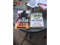 Two Andy McNab Paperback Books