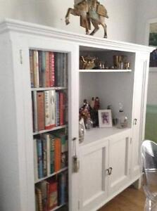 French provincial style white cabinet/sideboard /TV cabinet Cammeray North Sydney Area Preview