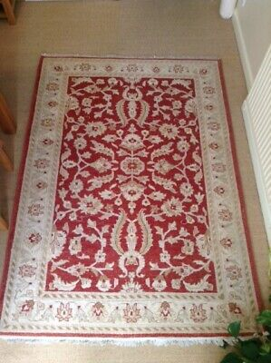 Afghan wool carpet