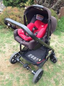 **EXCELLENT CONDITION** Red Joie compete travel system