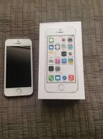 16GB silver/white iPhone 5S Unlocked