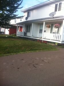 Beautiful Side by Side Duplex Moncton-Income property